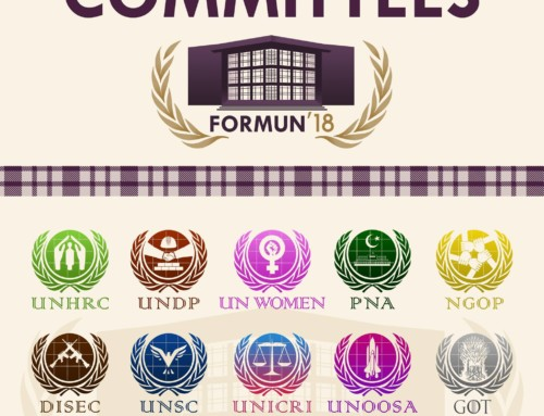 Committees of FORMUN'18