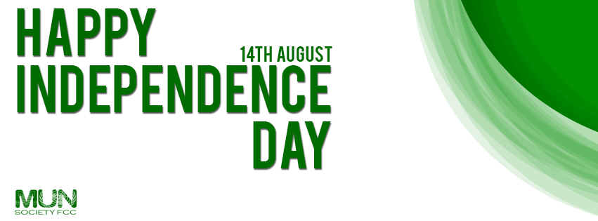 Happy Independence Day 14th August Formun Society