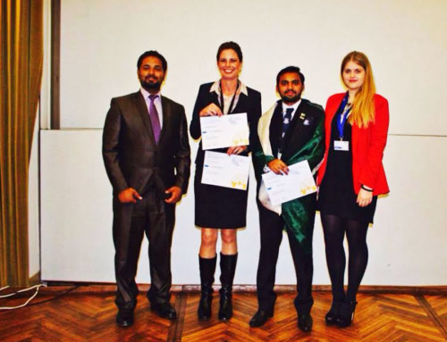 FCC's Uzair Khan bags MUN Award in Germany